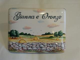 Ceramica come mestiere servizio da caffè con gufi
