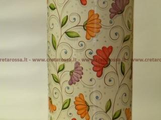 cod.art: po01 - Portaombrelli in ceramica dipinto a mano in base alla richiesta del cliente. Ne vorresti uno simile? Invia una richiesta e riceverai il preventivo con le spese di spedizione.