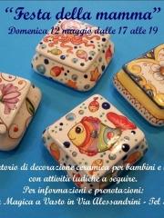 Festa della mamma: laboratorio di ceramica con Creta Rossa