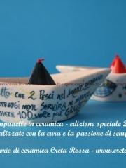 Campanelle in ceramica firmate Creta Rossa - collezione 2019