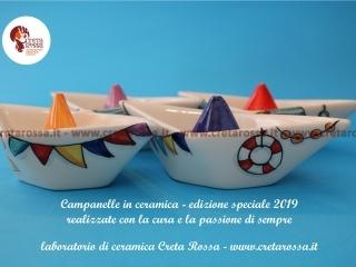 cod.art: bo57c - Vuoi una bomboniera in ceramica simile a quella in foto? Scegli decoro, colore e scritte e invia una richiesta con la data dell'evento e le quantità che ti occorrono. Riceverai il preventivo con le spese di spedizione