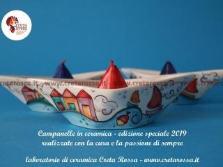 cod.art: bo57f - Vuoi una bomboniera in ceramica simile a quella in foto? Scegli decoro, colore e scritte e invia una richiesta con la data dell'evento e le quantità che ti occorrono. Riceverai il preventivo con le spese di spedizione
