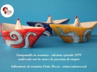 cod.art: bo57d - Vuoi una bomboniera in ceramica simile a quella in foto? Scegli decoro, colore e scritte e invia una richiesta con la data dell'evento e le quantità che ti occorrono. Riceverai il preventivo con le spese di spedizione