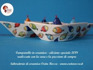 cod.art: bo57s - Vuoi una bomboniera in ceramica simile a quella in foto? Scegli decoro, colore e scritte e invia una richiesta con la data dell'evento e le quantità che ti occorrono. Riceverai il preventivo con le spese di spedizione