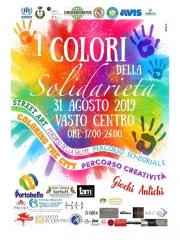 I colori della solidarietà a Vasto