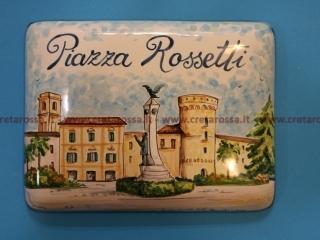 cod.art: va35 - Mattonella in ceramica con paesaggio di Vasto, dipinto a mano in base alla richiesta del cliente. Ne vorresti uno simile? Invia una richiesta e riceverai il preventivo con le spese di spedizione.