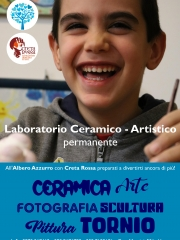 All'Albero Azzurro un laboratorio ceramico - artistico permanente a cura di Creta Rossa di Vasto