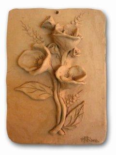 Bassorilievo realizzato a mano da F.M.T. durante il corso di aggiornamento per insegnanti  tenutosi presso il III circolo diddattico di Vasto