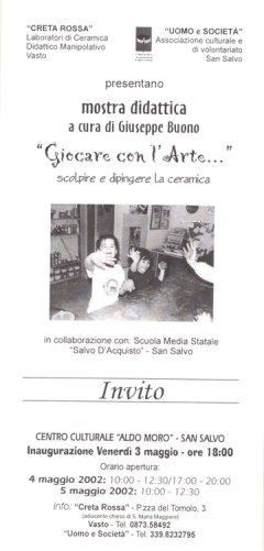 Mostra didattica giocare con l'arte - 2002 San Salvo