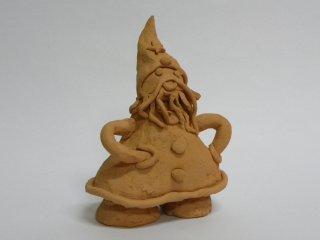 Babbo Natale - lavoro realizzato da N.D.A. durante i corsi del laboratorio.Tecnica:maiolica.