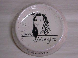 (CODICE ARTICOLO: AZ/23) Oggettistica personalizzata con logo aziendale.Tecnica: maiolica
