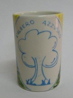(CODICE ARTICOLO: AZ/13) Oggettistica personalizzata con logo aziendale.Tecnica: maiolica