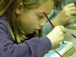 Corsi di ceramica per bambini -  decorazione - lavorazione dell'argilla - Scuola  - Vasto - Chieti - Abruzzo