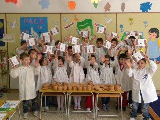 """""""Ceramicando"""" progetto didattico manipolativo realizzato all'interno della scuola materna """"Gesù Bambino"""" di Lanciano nell'a.s.2009/2010"""