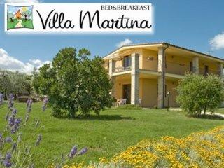 Esterno di Villa Martina