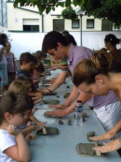 Terre Rare - manifestazione di ceramica e artigianato, arte e musica - Laboratori estivi di pittura e argilla per bambini e adulti - Vasto