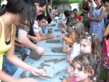 Grande successo per i laboratori di ceramica di Creta Rossa, dedicati ai bambini.