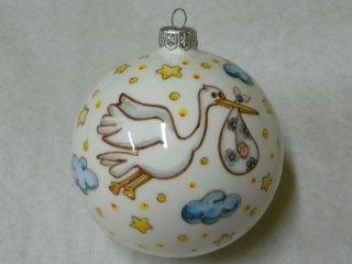 Palline di Natale in ceramica - Laboratorio artigianale di ...