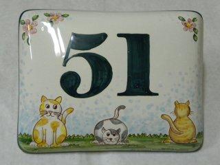 Numeri civici e insegne in ceramica laboratorio artigianale di