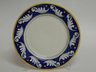( CODICE ARTICOLO: PIT/01) Piatto in ceramica dipinto a mano  con decoro