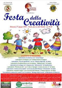 FESTA DELLA CREATIVITA' - 17 GIUGNO 2012