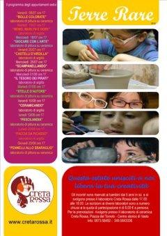 Terre Rare 2012: laboratori estivi di ceramica per bambini a Vasto.