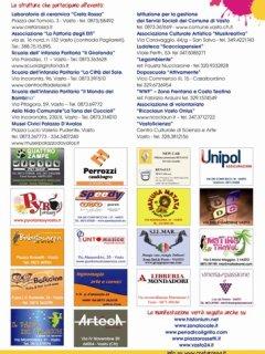 FESTA DELLA CREATIVITA' - II EDIZIONE - CENTRO STORICO DI VASTO - DAL  2 AL 4 NOVEMBRE 2012
