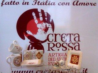 Oggettistica in ceramica realizzata per il Museo Archeologico del Palazzo D'Avalos di Vasto.