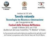 Creta Rossa partecipa al Festival della Scienza Ad/ventura - 2013
