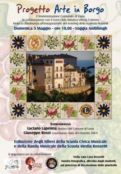 A Vasto con Arte in Borgo 2013