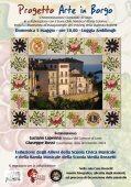 Arte in Borgo a Vasto: restyling  della scalinata dedicata a Gabriele Rossetti
