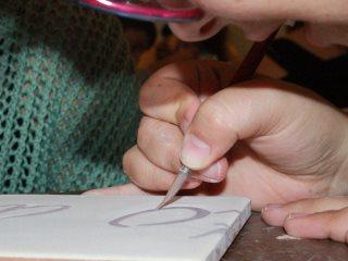 Arte in Borgo 2013 - Fasi lavorative del progetto