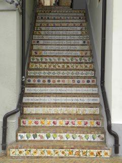 Progetto Arte in Borgo 2013 in collaborazione con il comune di Vasto, i Lions Club, Liceo artistico e il laboratorio Creta Rossa di Vasto.