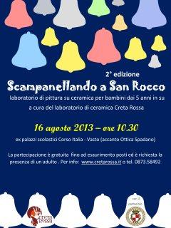 Scampanellando a San Rocco - II edizione del laboratorio di ceramica per bambini a Vasto a cura di Creta Rossa