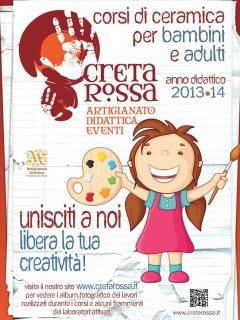 Corsi di Ceramica per Bambini e Adulti a cura del laboratorio Creta Rossa di Vasto - anno didattico 2013-2014