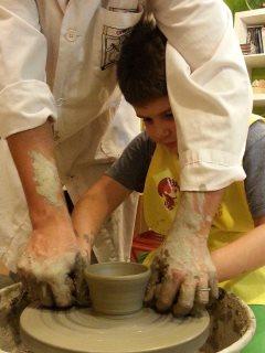 Corsi di ceramica per bambini